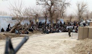 Afghanistan-Amokschütze in den USA eingetroffen (Foto)