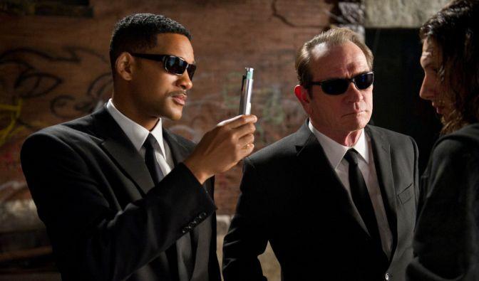 Agent J und Agent K in Mission: Dieser junge Mann wird gleich «geblitzdingst». (Foto)