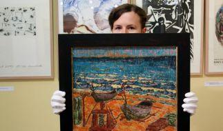 Ahrenshooper Kunstauktion mit Rekordergebnis (Foto)