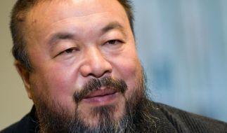 Ai Weiwei  rund um die Uhr unter Beobachtung (Foto)