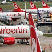 Flugbetrieb wird eingestellt - Flieger bleiben am Boden (Foto)