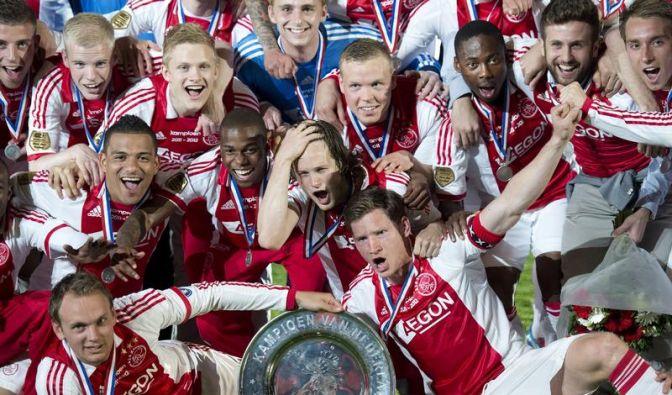 Ajax Amsterdam gewinnt 31. Meistertitel (Foto)