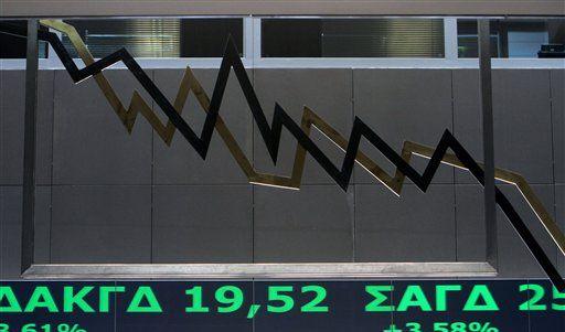 Aktienkurs fallend (Foto)