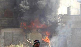 Aktivisten melden neue Angriffe in Homs und Idlib (Foto)
