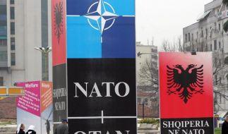 Albanien und Kroatien sind neue NATO-Mitglieder (Foto)