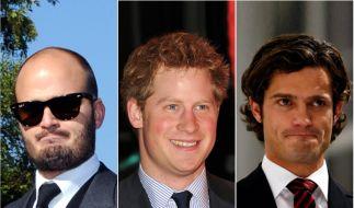 Albert von Thurn und Taxis, Prinz Harry und Prinz Carl Philip (Foto)
