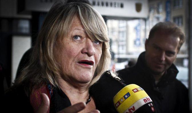 Alice Schwarzer als Zeugin (Foto)