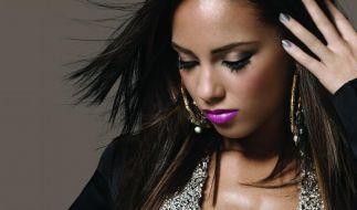 Alicia Keys blüht auf (Foto)