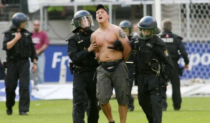 Alkoholverbot im Stadion (Foto)