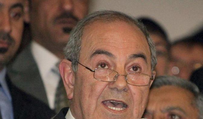 Allawi ist Wahlsieger im Irak (Foto)