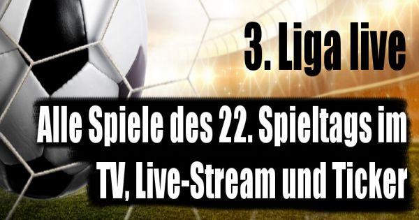 3. liga live spiele