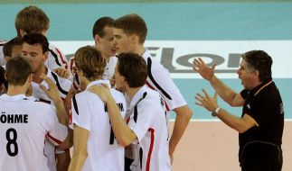 «Alles andere als schlecht»: Volleyballer zufrieden (Foto)