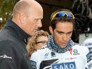 Alles für Contador - Radioshack mit vier Kapitänen (Foto)
