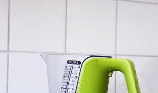 Allroundtalent zum Kochen und Backen: Der KitchPro Digitale Messbecher. (Foto)