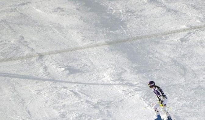 Alpine ohne Podest - Höfl-Riesch angeschlagen (Foto)