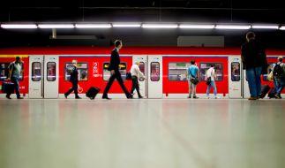 Als Schwarzfahrer in der Münchner S-Bahn hat man nichts zu lachen, auch nicht, wenn es wirklich ausversehen war. (Foto)