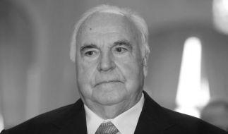 Altkanzler Helmut Kohl ist am Freitag, den 16. Juni 2017, in Ludwigshafen gestorben. (Foto)
