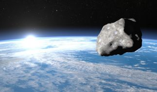Am 24.12.2015 soll ein Asteroid an der Erde vorbeifliegen. (Foto)