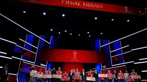 Am 1.12.2017 wird die WM 2018 ausgelost.