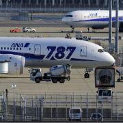Am Boden: eine Boeing 787 Dreamliner in Tokio. Dort bleibt sie vorerst auch.