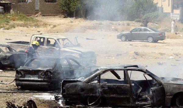 Am 25. Juli 2014 verübten Terroristen in Kirkuk im Norden Iraks ein Bombenattentat. (Foto)
