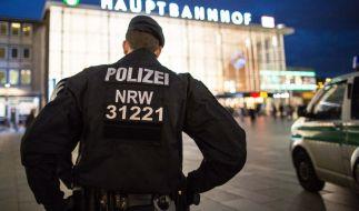 Am Ort des Geschehens: In der Silvesternacht kam es um den Kölner Hauptbahnhof zu mehreren sexuellen Übergriffen durch Täter mit angeblichem Flüchtlingshintergrund. (Foto)