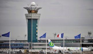Am Pariser Flughafen Orly wurde ein Mann niedergeschossen. (Foto)