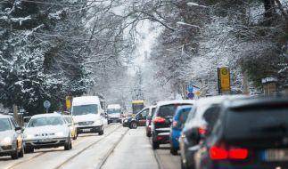 Am Samstag, dem 14.01., und am Sonntag, dem 15.01.2017, ist auf Deutschlands Autobahnen nur vereinzelt mit zähflüssigem Verkehr und Stau zu rechnen. (Foto)
