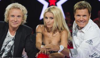 Am Samstag startet Thomas Gottschalk (links) zum ersten Mal als Supertalent-Juror bei RTL. (Foto)