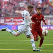 Am Samstagabend trifft der FC Bayern auf Borussia Mönchengladbach. (Foto)