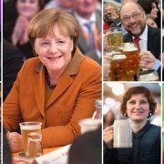 DAS machen Merkel, Schulz und Co. am Wahltag (Foto)