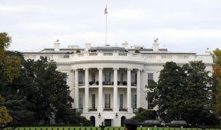 Am Weißen Haus in Washington wurde ein Mann aufgegriffen, der kurz zuvor auf einen Pastor in Odaho geschossen haben soll. (Foto)