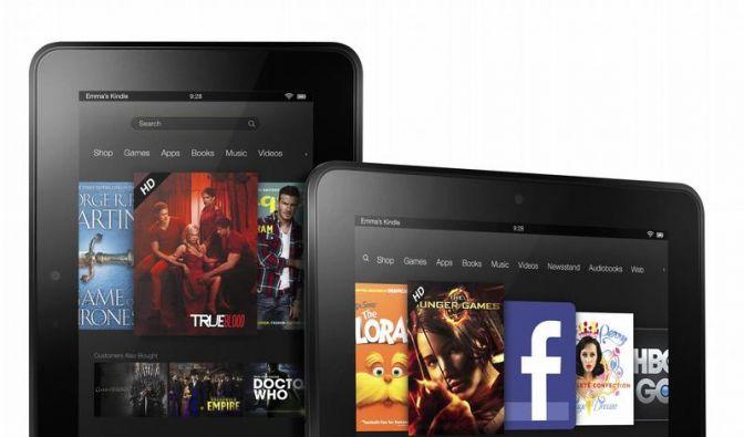 Amazon vertreibt Kindle Fire in Deutschland über Fachhandel (Foto)