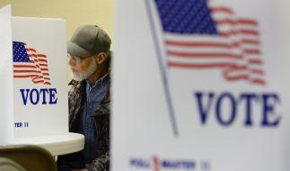 Amerika wählt. Die Entscheidung fällt zwischen Amtsinhaber Barack Obama und dem Republikaner Mitt Romney. (Foto)
