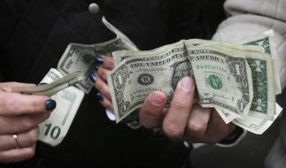 An 90 Prozent der Dollarscheine in US-Großstädten klebt Kokain. (Foto)