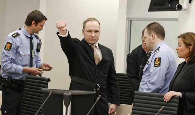 Anders Behring Breivik vor Gericht (Foto)