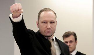 Anders Behring Brevik vor Gericht: Der Psychopath zeigt keine Reue. (Foto)