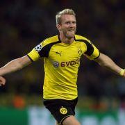 Andre Schürrle schießt Borussia Dortmund zum Unentschieden gegen Real Madrid. (Foto)