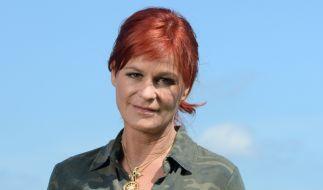 Andrea Berg hat sich schon mal in Camouflage geworfen. Dem Gegenschlag steht also nichts mehr im Weg. (Foto)