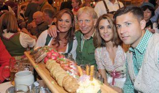 Andrea Berg besuchte gemeinsam mit Mann Uli Ferber das Oktoberfest. (Foto)