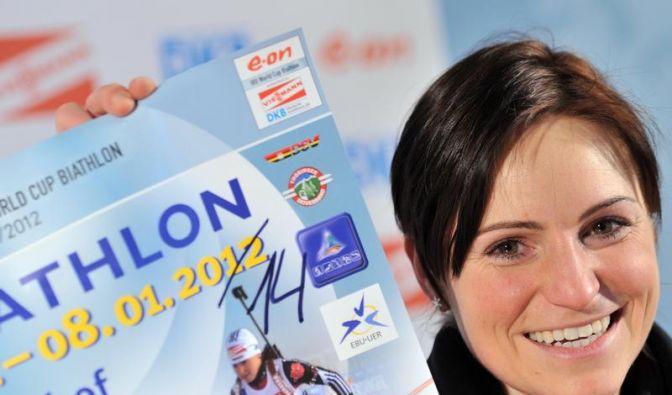 Andrea Henkel macht bis Sotschi 2014 weiter (Foto)