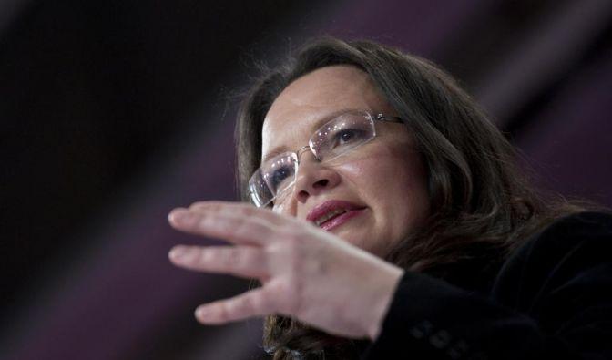 Andrea Nahles fordert Wulffs Rücktritt (Foto)