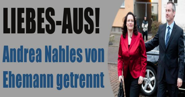 spd politikerin von ehemann marcus frings getrennt ehe kaputt liebes aus bei andrea nahles. Black Bedroom Furniture Sets. Home Design Ideas