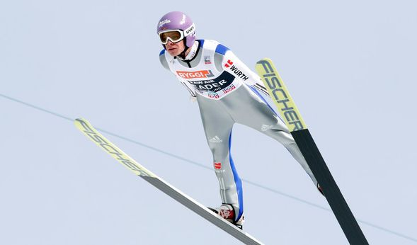 Abbruch: Wellinger Zweiter bei Skiflug-Weltcup - Kraft gewinnt (Foto)