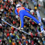 Andreas Wellinger will beim Springen in Kuusamo das Podest angreifen. (Foto)
