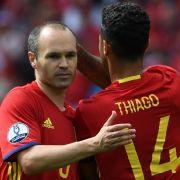 Achtelfinale gesichert! Spanien führt die Türkei vor - 3:0 (Foto)
