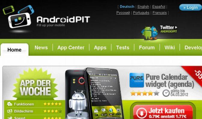Androidpit ist eine Alternative zum Android Market (Foto)