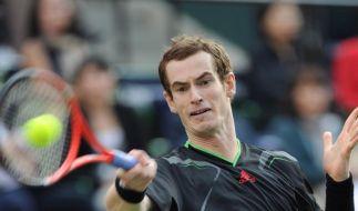 Andy Murray mit drittem Asien-Sieg (Foto)