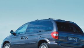 Anfälliger Garagenparker: Der Chrysler Voyager (Foto)