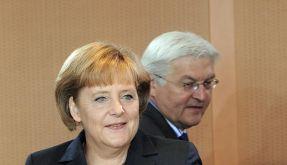 Angela Merkel (CDU) und Frank-Walter Steinmeier (SPD) (Foto)